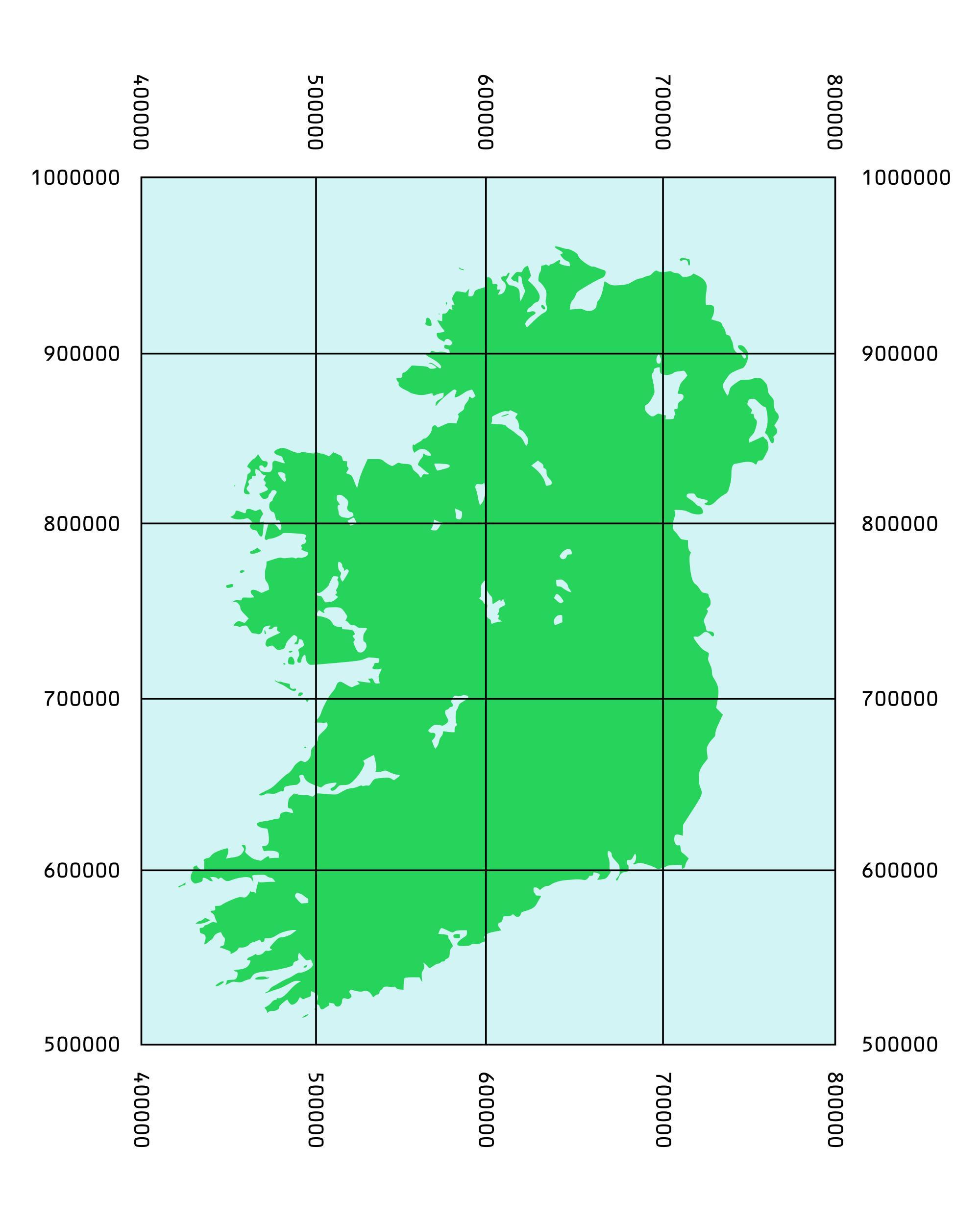 Kartta Koordinaatit Irlanti Kartta Koordinaatit Irlanti Pohjois
