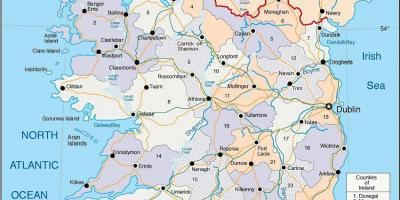 Irlannin Kartta
